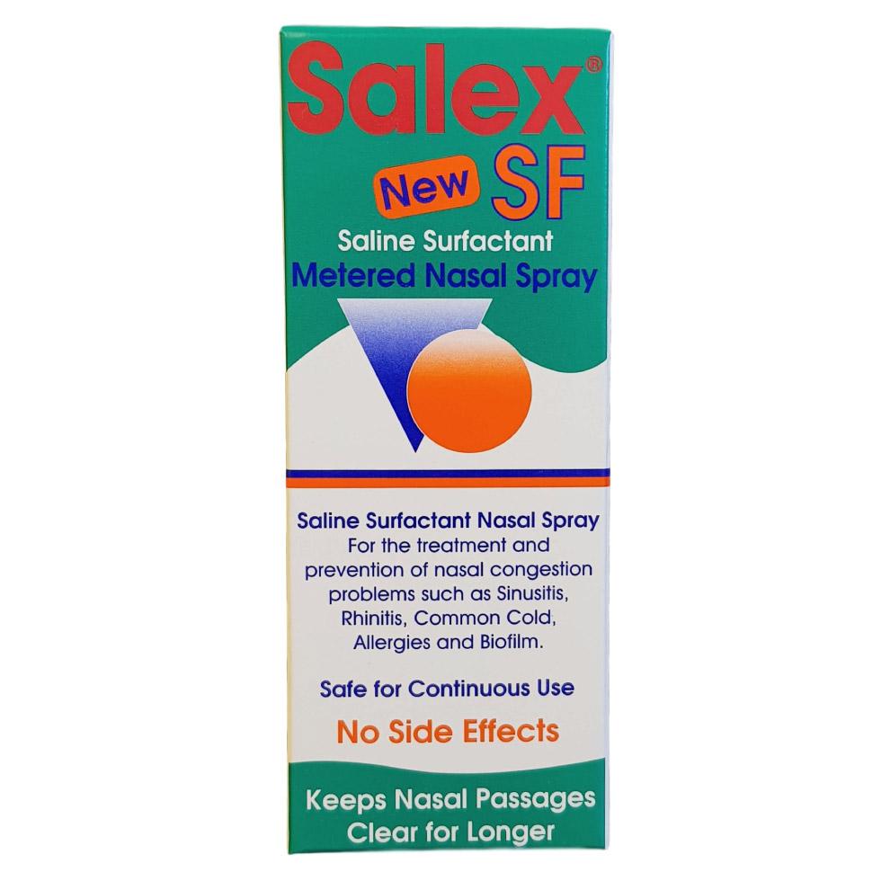 Salex Saline surfactant metered spray 30mL - AFSA