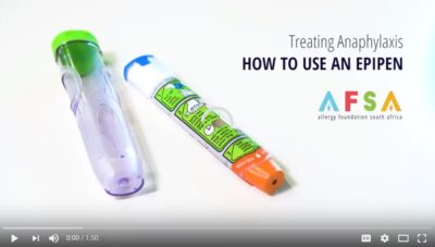 A guide to your epipen AFSA