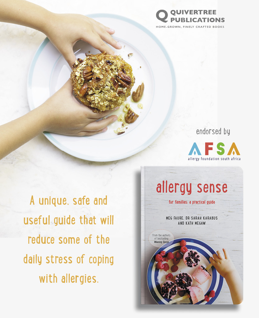 Allergy Sense recipe side bar advert