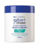 AFSA-Clicks-Expert---Moisturising-Body-Cream---Sensitive-Skin-Tub-500g-01_F