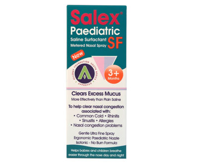 Salex SF Paediatric Metered Spray