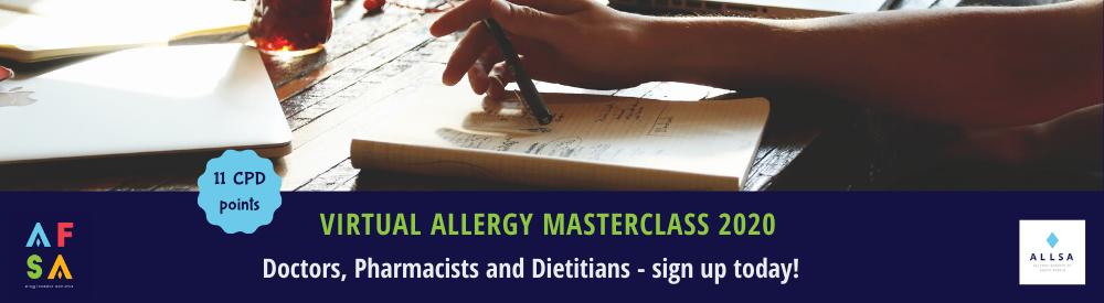 Allergy master class afsa