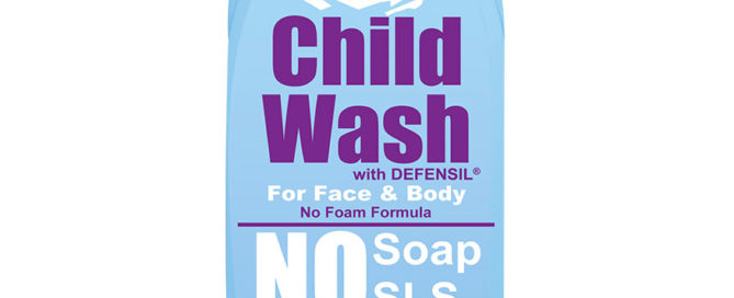 Pure child wash product image