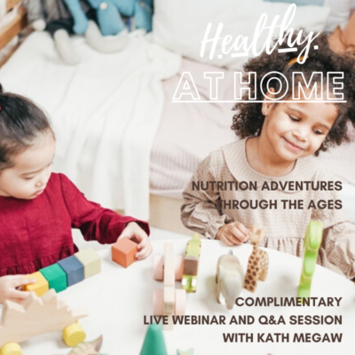 Healthy At Home Children General Graphic for Website and FB Events